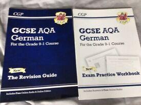 GCSE AQA German revision guide & exam practice books