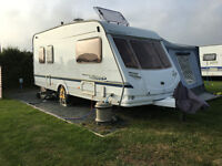 5 Berth Caravan - Sterling Europa 500 Vitesse caravan, full size Awning & extras (Great starter van)