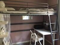 Cabin Bed w New Writing Table & chair