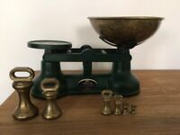 Salter traditional kitchen scales with weights