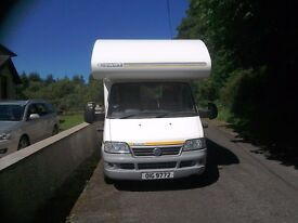 2003 Swift Suntor 590RL 4 berth motorhome . 2.3 Turbo diesel . In excellent condition. £15750 ono.