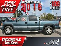 2006 GMC Sierra 1500 SLT W/ Heated Leather-Sunroof-4X4