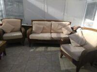 Leekes conservatory furniture set excellent condition