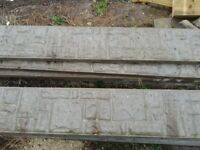 Gravel Boards - concrete