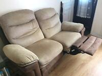 2 seater electric recliner sofa.