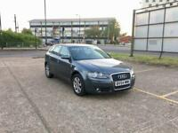 2005 AUDI A3 2.0 TDI DSG SPORTBACK – LOW WARRANTED MILES, AUTOMATIC, GREY, 5 DOORS, DIESEL, ALLOYS