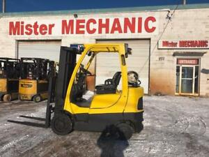 2013 Hyster S50FT 5000lbs Propane Triple Mast Side Shifter