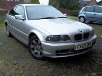 BMW 318Ci 2.0 E46 COUPE 2003 53