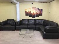 The Comfort Supreme Leather Corner Sofa