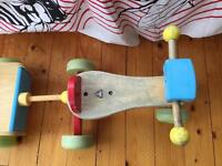 Toddlers Trike and trailer