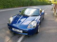 NO MOT 2001 MR2 Roadster + Hard Top Roof with clip kit