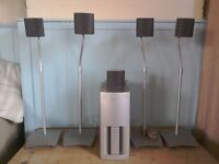 Sony surround sound speaker set WS 300 plus 5 TS 300 speakers