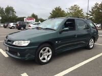 PEUGEOT 306 MERIDIAN AUTOMATIC 1.6 ESTATE 2002\\ SERVICE HISTORY\\ HALF LEATHER TRIM SEATS £590