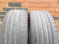 225 45 17 continental contisportcontact 3 tyres 4mm to 5mm