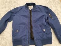 Boys blue bomber jacket by John Rocha age 9y