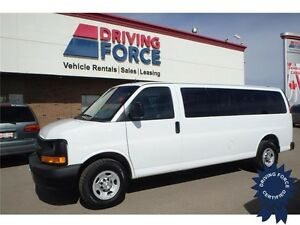 2015 GMC Savana LS 15 Passenger Rear Wheel Drive - 39,393 KMs