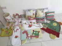 Mamas & Papas Gingerbread man nursery interior bundle