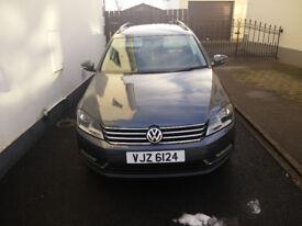 VW PASSAT ESATE 1.6 TDI 2013 £7550 O.N.O