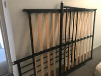 Ikea Double bed and near new mattress