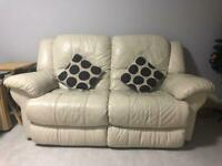 ELECTRIC Recliner Leather Sofa - £60