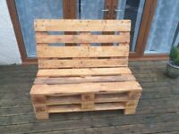 Euro Pallet Garden Patio Furniture Seating Sets for 2/3 People
