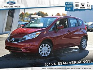 2015 Nissan Versa Note **1.6 SV*AUTOMATIQUE*CAMERA*CRUISE*A/C**