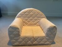 Kid's armchair in Jacadi material
