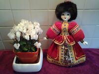 Russian doll in traditional Russian Costume-In Excellent Condition-Ideal as a Christmas Present