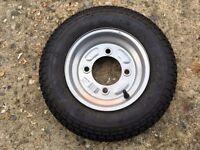 "MP68102 350 x 8 15"" Trailer Spare Wheel"