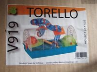 New and boxed hamster / rodent cage - Torello V919 model