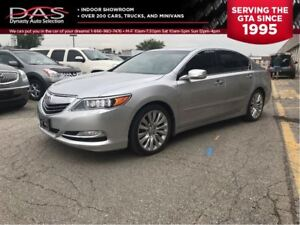 2014 Acura RLX TECHNOLOGY NAVIGATION/LEATHER/SUNROOF