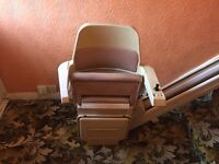 Stair Chair lift. In full working order complete, no longer required.