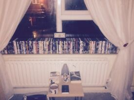 Over 100 quality DVDs hours and hours of entertainment for the whole family