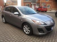 2010 MAZDA 3 TS2 1.6 DIESEL, 12 MONTH MOT, SERVICE HISTORY, LOW MILEAGE, HPI CLEAR,1 OWNER