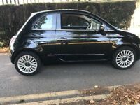 Fiat 500 LOUNGE 2008,leather,panoramic roof,fsh,reliable car,new cambelt,p-ex welcome