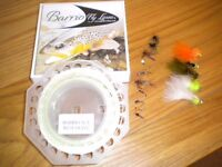 Fly fishing line and flies: Barrio WF7 floating line plus 15 flies & lures