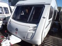 2008 SWIFT OAKMERE GT,FIXED BED,WITH MOVER,AT BUDGET CARAVANS LIVERPOOL,FINANCE AND PART EX WELCOME