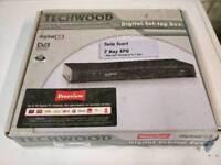 TECHWOOD FREEVIEW BOX