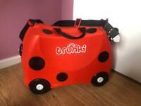 Trunki ride on kids suitcase