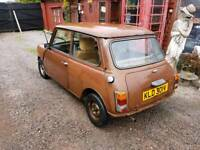 Austin mini spares or repairs runs and drives