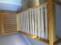 Marks and Spencers Hastings Lacquered Pine, Single Bed Frame. Excellent Condition.