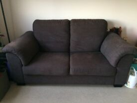 IKEA Tidafors Fabric Sofas (2+3 Seater) and Ekanas Footstool