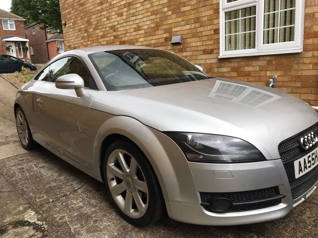 AUDI TT TFSI 2.0 COUPE IN SILVER