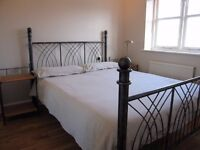Metal Frame Double Bed with no mattress