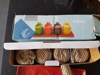 Stoneware Condiment Set from Lakeland