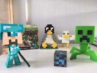 Mminecraft bundle, lego, figures etc