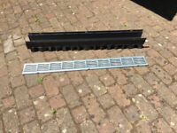 1 metre Drainage channel & galvanised cover