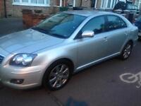 2007 TOYOTA AVENSIS T3 X D-4D SILVER