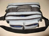 "LARGE ""TUF TRAVELLER"" CAMERA BAG FOR DIGITAL/FILM CAMERA & EQUIPMENT. MANY COMPARTMENTS - £8 ono"