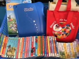 Vetch storio and books